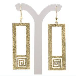 Jewelry - 🌸Greek key cutout design earring